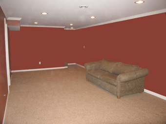 Basement After Picture