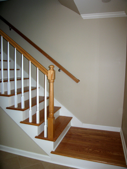 Entry Stairs After Picture