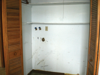 Laundry Room Before Picture