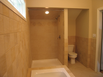 Master Bath New Construction Picture